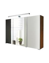 Puris Speed S2A 43XX A1 Зеркальный шкаф на 80, 100 или 120 см, с led подсветкой