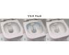 VitrA D-Light 9014B003-7209 Унитаз компакт Rim-Ex Open-Back c сиденьем микролифт