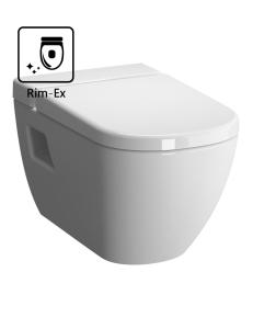 VitrA D-Light 5911B003-1086 Унитаз подвесной Rim-Ex c сиденьем микролифт