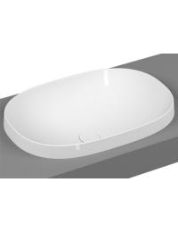 Vitra Frame 5652B403-0016 Раковина-чаша, овальная 56 см, встраиваемая сверху