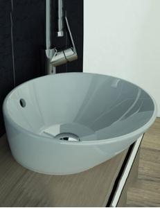 Vitra Geo Раковина-чаша, 38 см