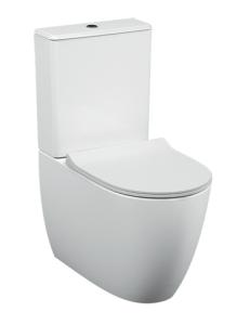 VitrA Sento 9830B003-7203 Напольный унитаз Rim-Ex с бачком и сиденьем SoftClose