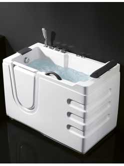 Abber AB9000 B Ванна акриловая, 130х70 см, белый