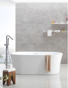Abber AB9201-1.6 Ванна акриловая отдельностоящая 160х80 см, белый