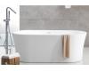 Abber AB9201-1.6  Ванна акриловая отдельностоящая, 160х80 см, белый