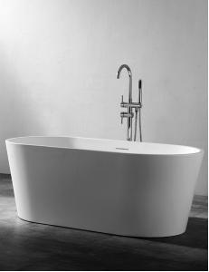 Abber AB9203-1.4 Ванна акриловая отдельностоящая 140х70 см, белый