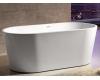 Abber AB9203-1.6  Ванна акриловая отдельностоящая, 160х80 см, белый