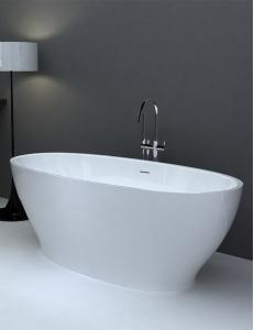 Abber AB9207 Ванна акриловая отдельностоящая 165х80 см, белый