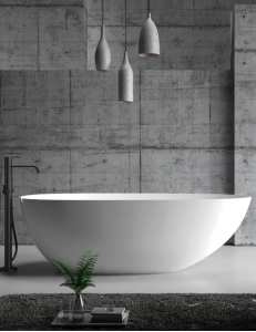 Abber AB9211 Ванна акриловая отдельностоящая 170х80 см, белый