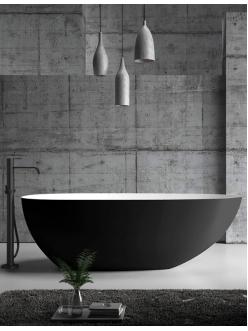 Abber AB9211B Ванна акриловая отдельностоящая, 170х80 см, черный