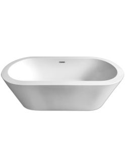 Abber AB9213 Ванна акриловая отдельностоящая, 170х80 см, белый