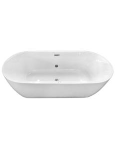 Abber AB9219E Ванна акриловая отдельностоящая 175х80 см, белый