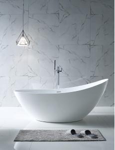 Abber AB9233 Ванна акриловая отдельностоящая 184х79 см, белый