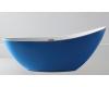 Abber AB9233DB Ванна акриловая отдельностоящая, 184х79 см, синий