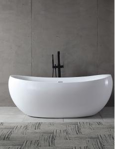 Abber AB9236 Ванна акриловая отдельностоящая 170х80 см, белый
