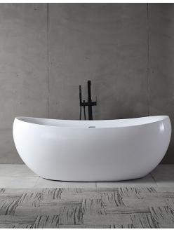 Abber AB9236 Ванна акриловая отдельностоящая, 170х80 см, белый