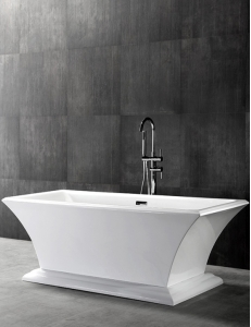 Abber AB9238 Ванна акриловая отдельностоящая 170х80 см, белый