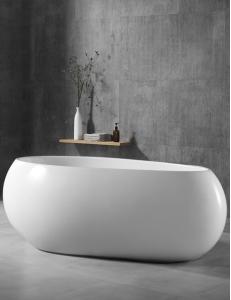 Abber AB9243 Ванна акриловая отдельностоящая 170х80 см, белый