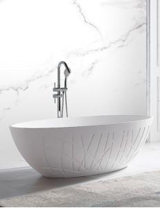 Abber AB9283 Ванна акриловая отдельностоящая 175х100 см, белый