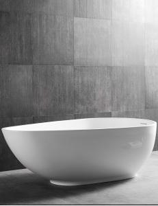 Abber AB9284 Ванна акриловая отдельностоящая 178х98 см, белый