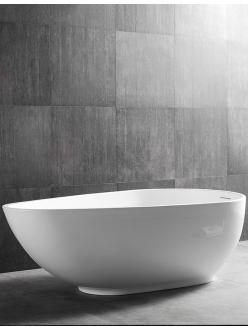Abber AB9284 Ванна акриловая отдельностоящая, 178х98 см, белый