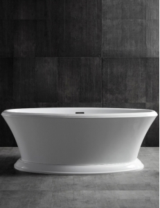 Abber AB9289 Ванна акриловая отдельностоящая 170х80 см, белый