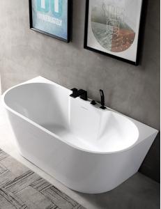 Abber AB9296-1.5 Ванна акриловая пристенная 150х80 см, белый