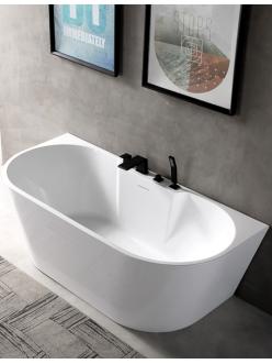 Abber AB9296-1.7 Ванна акриловая пристенная, 170х80 см, белый