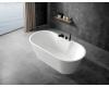 Abber AB9299-1.6 Ванна акриловая отдельностоящая, 160х80 см, белый