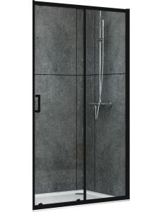 Abber Schwarzer Diamant AG30100B Душевая дверь 100х190 см