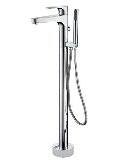 Смеситель для ванны напольный Abber Eleganz AF8315 Хром