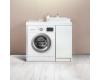 Alavann Soft 100 – Тумба под стиральную машину с накладной раковиной и 1 дверцей