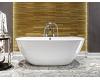 AquaStone Бали 170 – Овальная отдельностоящая ванна из искусственного камня