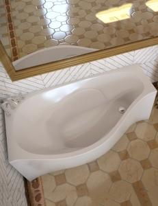 AquaStone Корсика 170 – ванна из искусственного камня
