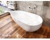 AquaStone Флоренция 170 – Асимметричная отдельностоящая ванна