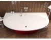 AquaStone Мальта 189 – Овальная пристенная ванна из искусственного камня