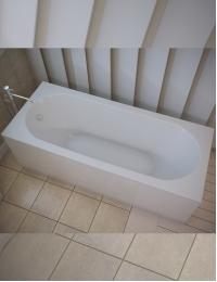 AquaStone Наоми 170х75 – ванна прямоугольная из искусственного камня