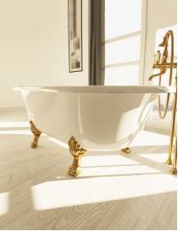 AquaStone Оливия 180 – ванна из искусственного камня на ножках