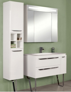 Акватон Блент 100 Белый Комплект мебели для ванной
