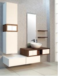 Акватон Интегро 100 Орех Комплект модульной мебели для ванной