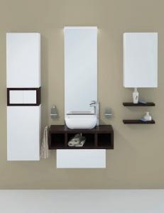 Акватон Интегро 80 Венге Комплект модульной мебели для ванной