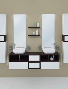 Акватон Интегро 160 Венге Комплект модульной мебели для ванной