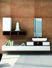 Акватон Интегро 120 Венге Комплект модульной мебели для ванной