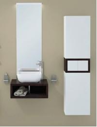 Акватон Интегро 60 Венге Комплект модульной мебели для ванной
