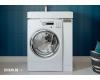 Комплект Акватон Лондри 80 – Тумба с раковиной под стиральную машину