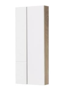 Акватон Мишель 43 Шкафчик для зеркала, Белый/Дуб