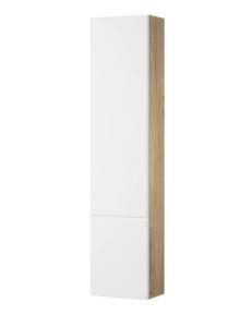 Акватон Мишель 23 Шкафчик для зеркала, Белый/Дуб