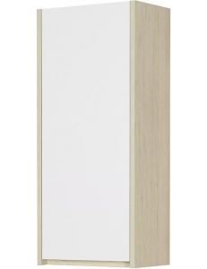 Акватон Сканди 35 Шкаф-колонна, Белый/Дуб Верона