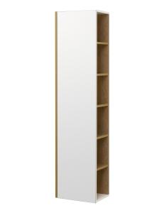 Акватон Сканди 40 Шкаф-колонна, Белый/Дуб