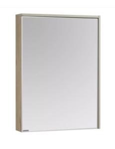 Акватон Стоун 60 Зеркальный шкаф, Сосна арлингтон